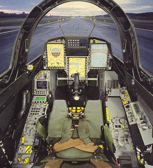 SvsS_Saab Gripen Interior