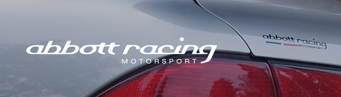 Abbott Racing Banner