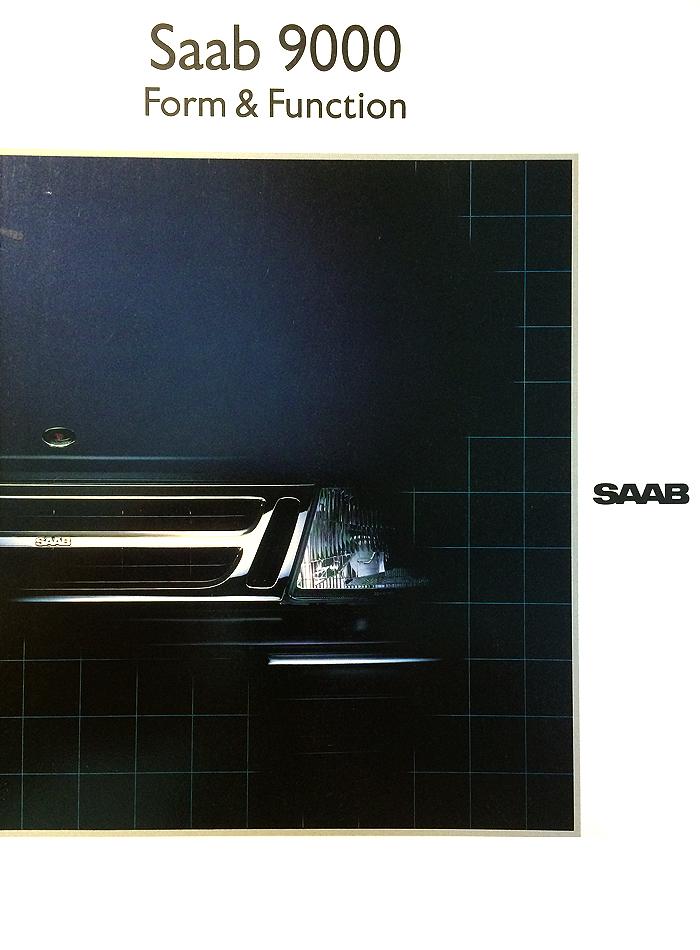 Saab 9000 Form & Function