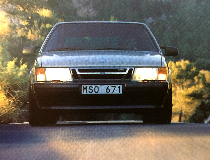 Saab 9000 On the Road