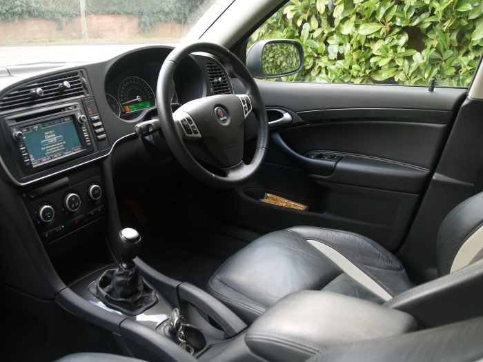 Saab 9-3X_Full Interior